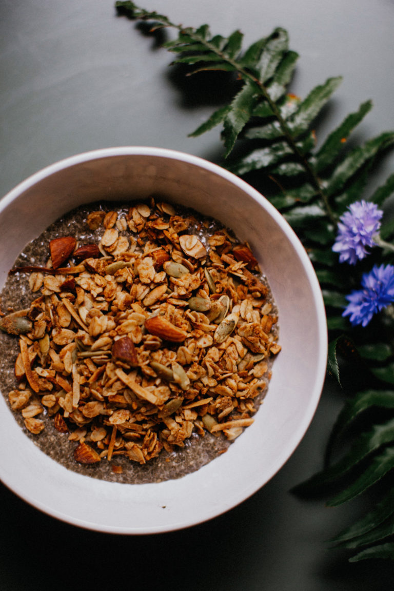 The Best Vegan Granola (easy!)