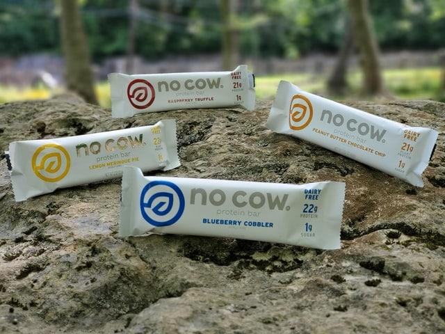 no cow vegan protein bars